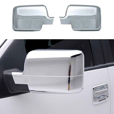 $59.99 • Buy For 2004 2005 2006 2007 2008 Ford F150 F-150 Chrome Full Mirror Covers PAIR