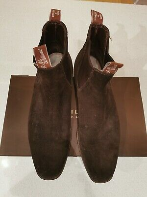 AU152.50 • Buy RM Williams Brown Suede Craftsman Boots 11G