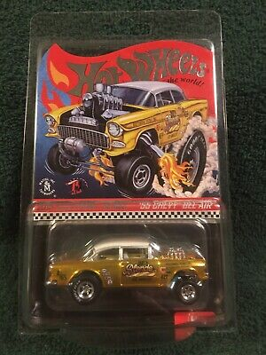 $26.69 • Buy Hot Wheels RLC Selections Dirty Blonde 55 Chevy Bel Air Gasser In Protector