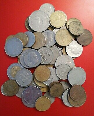 Old Foreign Coins Bundle  • 2.50£