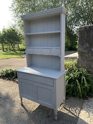 Solid Wood Dresser Display Cabinet Shabby Chic Project • 60£