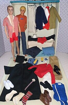 $ CDN49.34 • Buy Vintage Barbie 2 Ken Doll & Case Clothes Lot