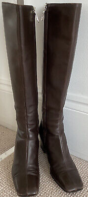 Gucci Boots Vintage With Side Logo Zipper  • 25£