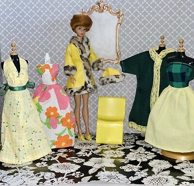 $ CDN66.67 • Buy Vintage Barbie Bubble Cut Doll & Clothes Lot