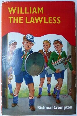 Richmal Crompton , William The Lawless , First Edition, 1970 , Newnes  • 349.99£
