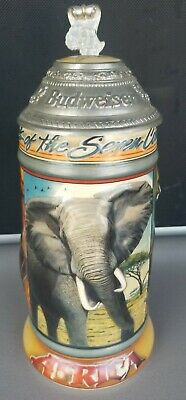 $ CDN26.35 • Buy BUDWEISER  Animals Of The Seven Continents Series Stein AFRICA 1997