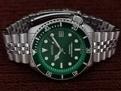 $ CDN84 • Buy Stunning Sub Green Face Mod Seiko Diver 7002-7000 Automatic Men's Watch Sn 2n291