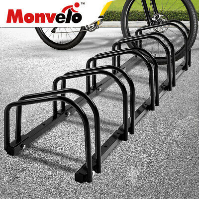 AU55.99 • Buy 5 Bikes Stand Bicycle Bike Rack Floor Parking Instant Storage Cycling Portable