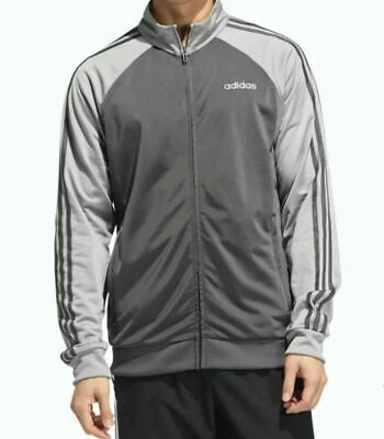 $ CDN45.78 • Buy Nwt Adidas Essentials 3 Stripes Tricot Men's Track Jacket - Size Large  Fi8177