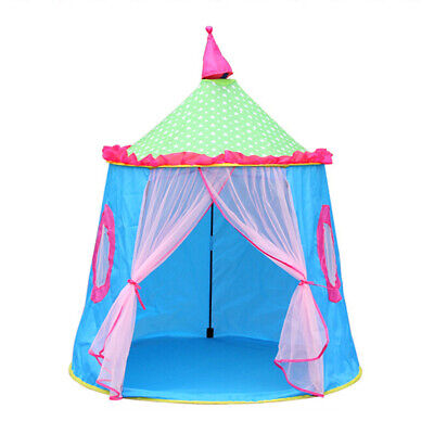 Kids Playhouse Outdoor/Indoor Princess Fairy Castle Tent Garden Game Play House • 16.99£