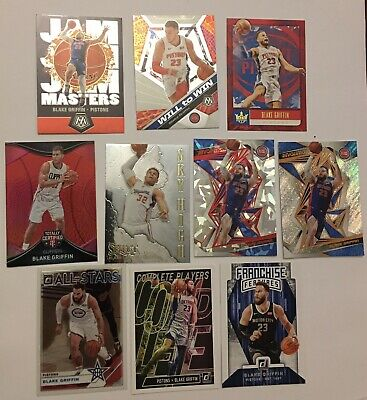 AU8 • Buy Blake Griffin Basketball Card Lot X10, Inserts, Base, All NM,