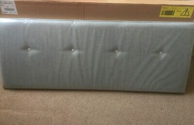 BNIB Skyblue Button Double Headboard  • 15£