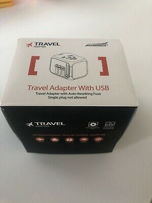 AU7.10 • Buy Travel Adapter With Usb - USA Europe Australia UK 🇺🇸 🇦🇺 🇬🇧