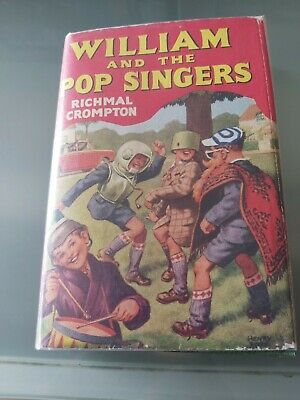 William And The Pop Singers Richmal Crompton 1st Edition 1965 Newnes  Vg Condton • 20£