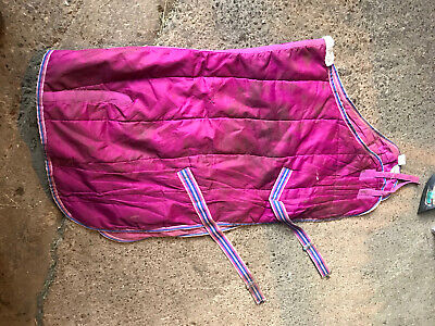 The Cuddly Ponies Club Pink Stable Rug - 4'6 • 8£