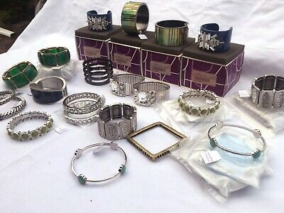 $ CDN132.01 • Buy Lia Sophia Jewelry – 30 Pcs Bracelets - Assorted Styles - NEW With TAGS