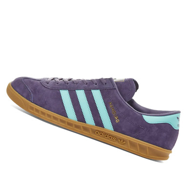 AU196.95 • Buy ADIDAS MENS Shoes Hamburg - Purple, Aqua & Gum - FV1204