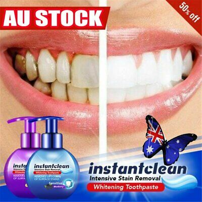 AU12.63 • Buy Instant Clean Intensive Stain Removal Whitening Toothpaste Fight Bleeding Gums~N