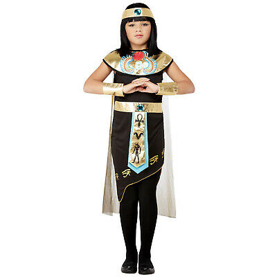 $23.56 • Buy Girls Victorian Maid Costume Child Poor Peasant Fancy Dress Book Day Kids 4 - 12