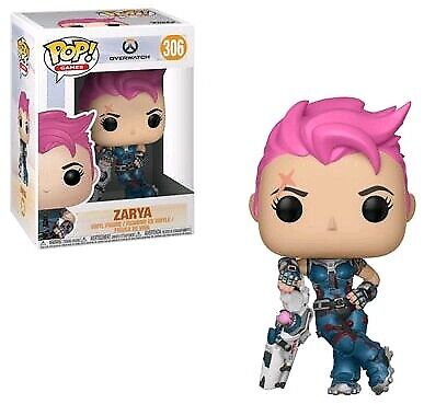 AU18.95 • Buy Overwatch Zarya Pop! Vinyl Figure #306