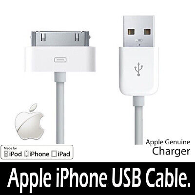 Genuine Charging Cable Charger Lead For Apple IPhone 4,4S,3GS,iPod • 1.95£
