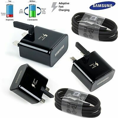 $ CDN2.58 • Buy Samsung Galaxy S8+ S9+ S10+ Note 8 2AMP Fast Mains Charger Type-C USB Cable