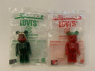 $2000 • Buy CLOT Strawberry & Watermelon 100% Be@rbrick Bearbrick