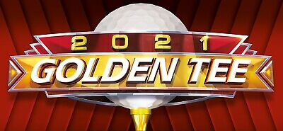 $3700 • Buy 2021 Golden Tee COMMERCIAL LIVE Arcade Update Included: Can Convert To Home Ed.