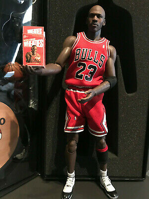 $346.82 • Buy Real Masterpiece NBA Michael Jordan 1st Series 1/6 Figure Red Jersey  WEATIE BOX