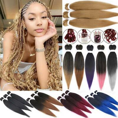 Xpression Pre Stretched Hair Extensions 20/26  Expression Perm Yaki Jumbo Braids • 16.90£