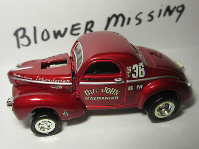 $4.25 • Buy Hot Wheels Willy's Gasser  Parts Of Set Real Riders Red Single