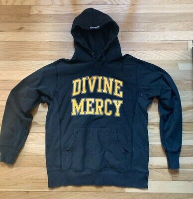$ CDN260.51 • Buy Supreme Divine Mercy Hoodie Fall/Winter 2009 Black Yellow Large