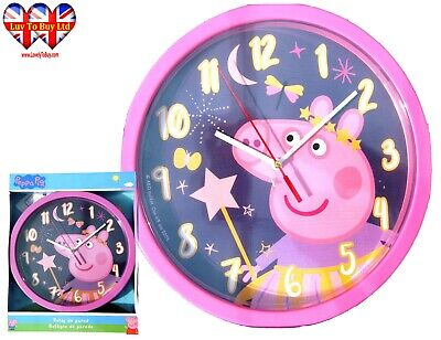 £9.99 • Buy Peppa Pig Wall Clock, Children's Wall Clock, Officially Licensed,