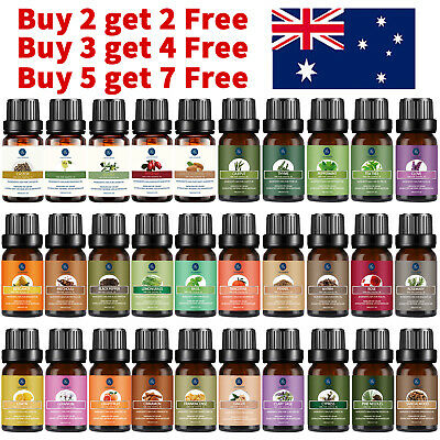 AU10.99 • Buy Essential Oil 100% Pure & Natural Aromatherapy Diffuser Fragrance Oils 10/30ml