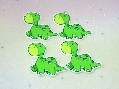 Dinosaur Resin FlatBack Planar Cabochon Decoden Kawaii Craft Embellishment Bow  • 2.99£