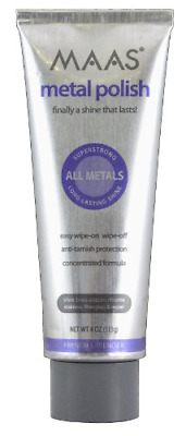 $30.80 • Buy Maas Concentrated Metal Cleaning & Polishing Creme, 113g