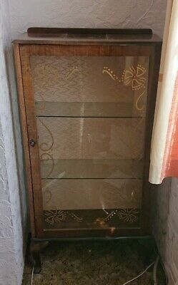 Glass Front Display Cabinet • 19.99£