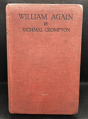 William Again By Richmal Crompton, 1923 First Edition • 14.99£