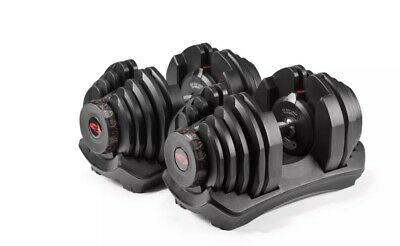 $ CDN1733.41 • Buy Bowflex SelectTech 1090 Adjustable Exercise Dumbbell Weights PAIR IN HAND