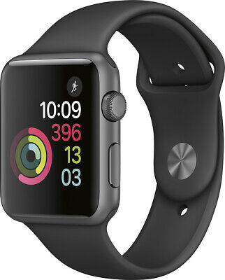 $ CDN174.26 • Buy USED Apple Watch Series 1 38mm (GPS) Silver Aluminum White Sport Band