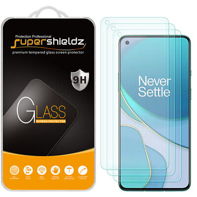 AU12 • Buy 3X Supershieldz Tempered Glass Screen Protector For OnePlus 8T / 8T Plus 5G