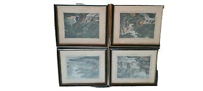 Original Framed Fishing Prints By Samuel Howitt • 40£