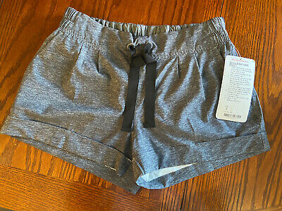 $ CDN40 • Buy New! Lululemon Spring Breakaway Short ❤️Size 6❤️ Heathered Grey Tracker Wunder