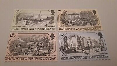 Guernsey - 1978, Old Guernsey Prints, 1st Series Set - MNH  • 1.50£