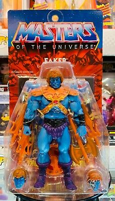 $450 • Buy MOTUC Faker Ultimates (Masters Of The Universe Classics) Super7 MOSC