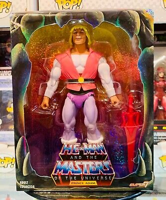 $54 • Buy SDCC 2018 MOTU Filmation Laughing Prince Adam (Masters Of The Universe) Super7