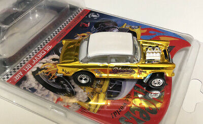 $18 • Buy 2019 Hot Wheels RLC SELECTIONs 1955 Chevy Bel Air Gasser Dirty Blonde Opened