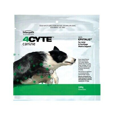 AU71.47 • Buy 4CYTE Canine 100g For Sore Joints And Arthritis In Dogs