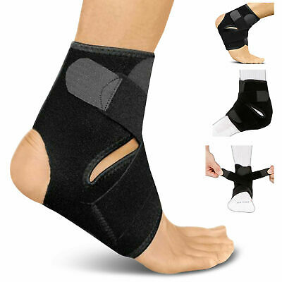 Ankle Support Brace Elastic Compression Wrap Sports Relief Pain Foot Bandage • 3.99£
