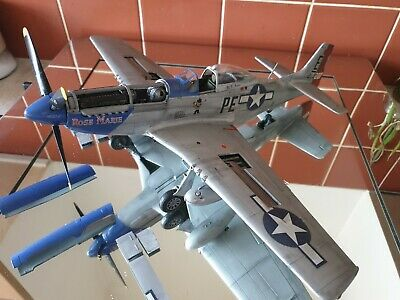Airfix Na P-51d Mustang, 1:24 Scale Built And Painted. • 110£